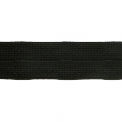Button hole elastic 25-30mm black - 50m