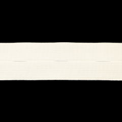 Button hole elastic 25-30mm white - 50m