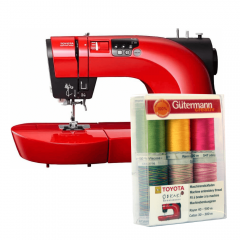 Toyota Sewing machine Oekaki red - 1pc