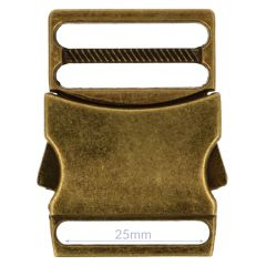 Clip buckle metal 25mm - 5pcs