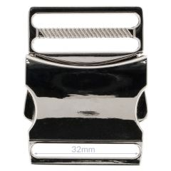 Clip buckle metal 32mm - 5pcs
