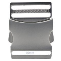 Clip buckle metal 40mm - 5pcs