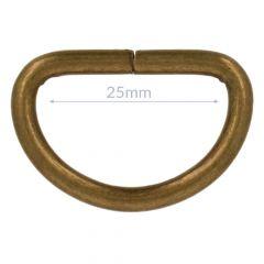 D-rings 25mm - 10pcs
