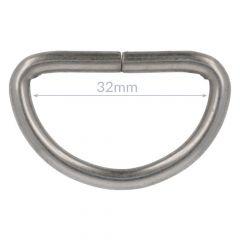 D-rings 32mm - 10pcs