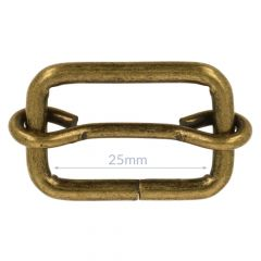 Buckle metal 25mm - 10pcs