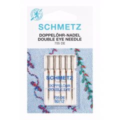 Schmetz Double eye 5 needles 80-12 - 10pcs