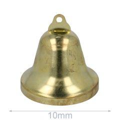 Bells 10-75mm gold - 5-100pcs