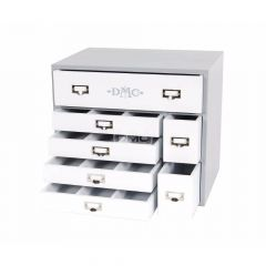 DMC Design box incl. 120 strands and 20 cards - 1pc