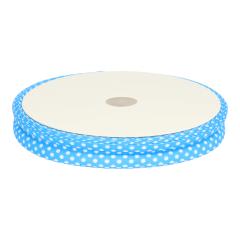 Bias binding with polka dots 18mm - 25m