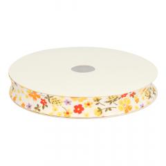 Bias binding floral 18mm - 25m
