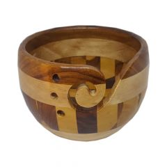 Scheepjes Yarn bowl multi wood - 1pc