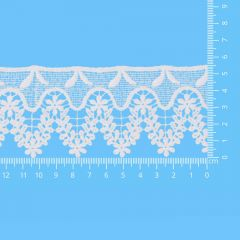 Lace trim glossy 55mm - 13.7m