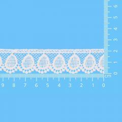 Lace trim glossy 22mm - 13.7m - 089
