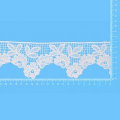 Lace trim glossy 70mm - 13.7m