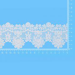 Lace trim glossy 65mm - 13.7m - 089