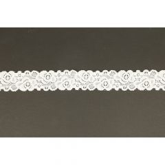 Nylon stretch lace 34mm - 25m