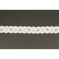 Nylon stretch lace 35mm - 25m