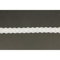 Nylon stretch lace 25mm - 25m