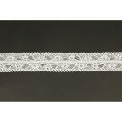 Nylon stretch lace 43mm - 25m