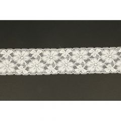 Nylon stretch lace 62mm - 25m