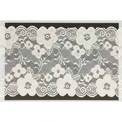 Nylon stretch lace 180mm - 12.5m