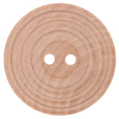 Wooden button with rim size 20-40 - 40-50pcs