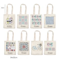 Scheepjes Canvas bag assortment 8 designs - 1pc