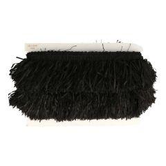 Fringe for shawls black - 25m
