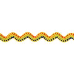 Ric Rac trim multicoloured - 25m