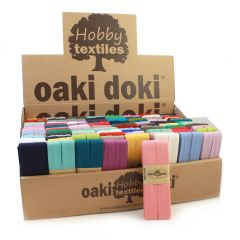 Oaki Doki Display with Bias jersey 120p. in box - 1p.