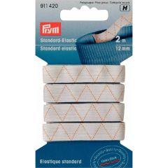 Prym Standard elastic 12mm white - 5x2m
