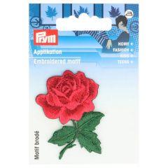 Prym Iron-on patch rose - 3pcs