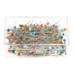 Opry Glass head pins 300 pieces - 10 boxes