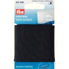 Prym Waistband elastic 60mm black-white 0,9m - 5pcs. K