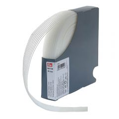 Prym Shirring elastic 25-40mm white - 20m