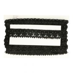 Lace trim with pearl beads 45mm - 13m