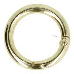 Opry Ring with click fastening Gold or silver  -  12pcs