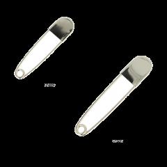 Opry Kilt pins 11-12.5cm nickel - 5pcs