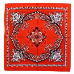 Handkerchief red or fur  -  10pcs