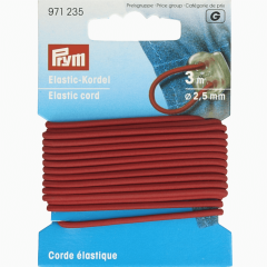 Prym Elastic cord 2.5mm - 5x3m