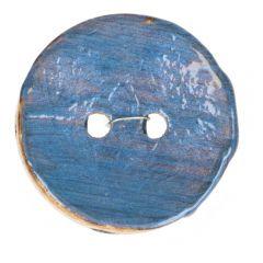 Button coconut vintage - size 44 - 30 st