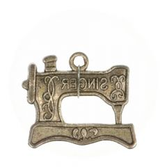 Charm sewing machine 'singer' - 100pcs