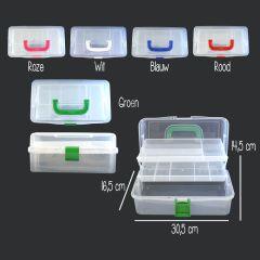 Opry Sewing box 30,5x16,5x14,5cm - 6.7 liter - 1pc