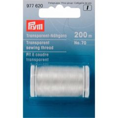 Prym Transparent sewing thread light-dark 200m - 5pcs. I