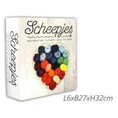 Scheepjes Folder for colour sample cards 32x27x6cm - 1pc