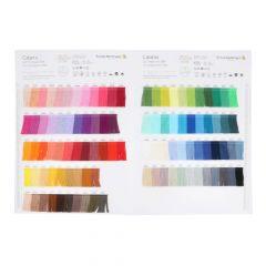 Catania Colour sample card - 1pc