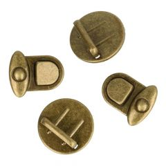 Bag fasteners round big SI, AGO, ASI -  10pcs