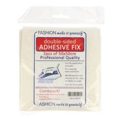 Plakfix double-sided combipak fine & medium 50x50cm - 10pcs