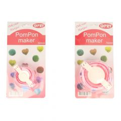 Opry pom pom maker 50mm + 70mm - 6pcs
