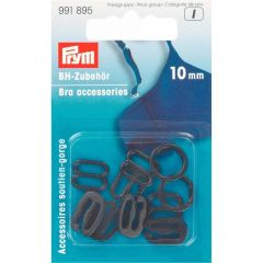 Prym Bra accessories plastic 10mm - 5pcs.  I